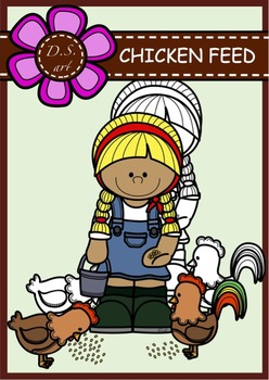 Chicken feed - FREE Digital Clipart (color and black&white)