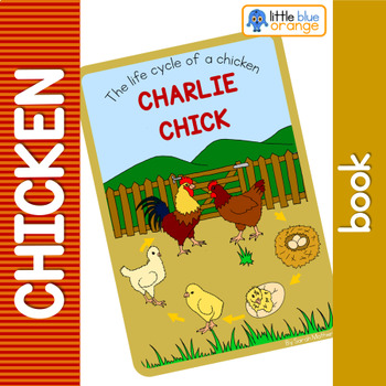 Chicken life cycle  book