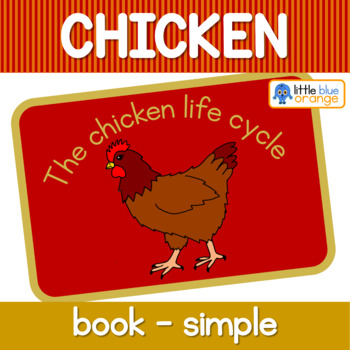 Chicken life cycle book (simplified version)