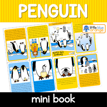 Penguin life cycle mini book