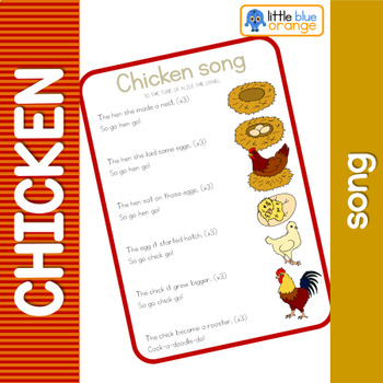 Chicken life cycle song