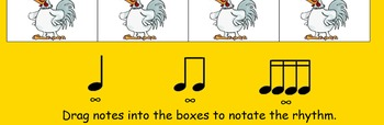 Chicken on a Fence Post Sixteenth Notes