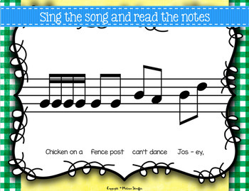 Chicken on a Fencepost (Dance Josey){Tika Tika}{Low Sol} Kodaly Method Folk Song