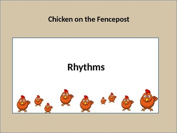Chicken on a Fencepost PowerPoint introducing Low Sol