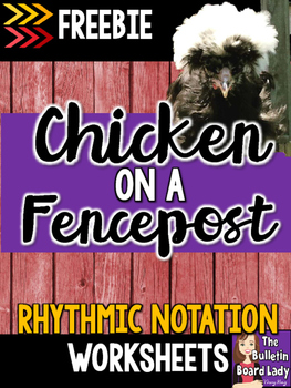 Chicken on a Fencepost Worksheets FREEBIE
