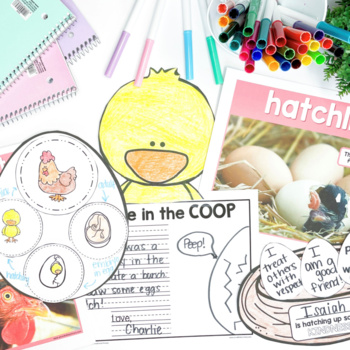 Chicken Non-Fiction ELA & Animal Science Unit