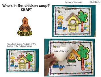 Chicken Games and Crafts {Speech Therapy or Classroom use}