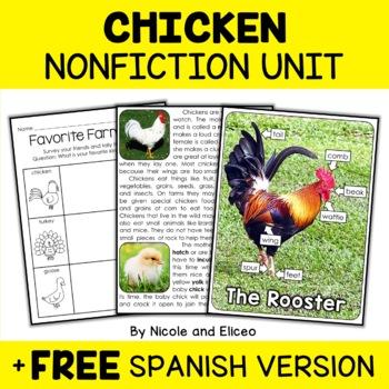 Chicken Activities Nonfiction Unit