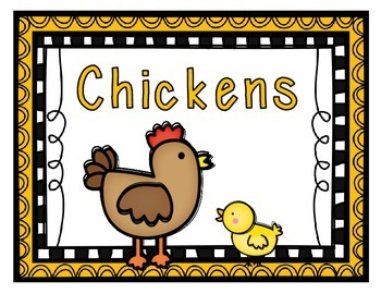 Chickens: A Science and ELA Study