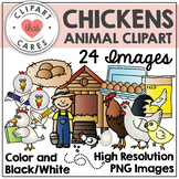 Chickens Animal Clipart by Clipart that Cares