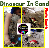 Dinosaurs In The Sand (Sunnah Learners Photo Booth)