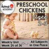 Chickens Preschool Unit - Printables for Preschool, PreK, Homeschool Preschool