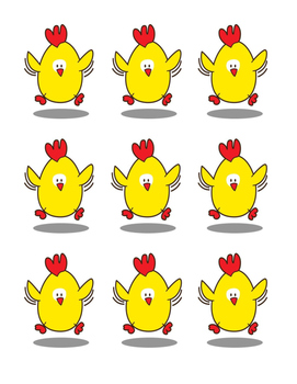 """""""Chickie Dance!"""" -- Crafts and Group Game with Sequential Movement"""