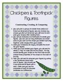 Chickpea & Toothpick Figures