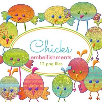 Chicks Embellishments