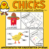 Chicks: Reading Comprehension, Writing and Craftivities