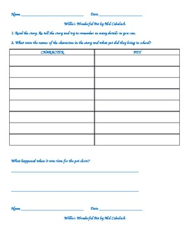 Follow Up to Guided Reading book Soccer Game