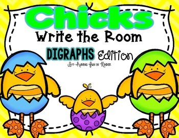 Chicks Write the Room - Digraphs Edition