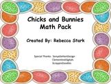 Chicks and Bunnies Math Pack