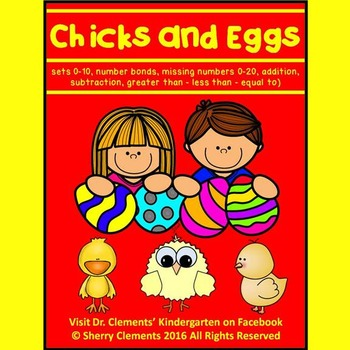 Chicks and Eggs (Kindergarten Math)