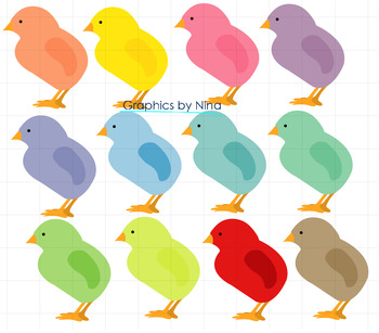 Chicks clipart