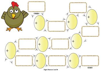 Chicky Wicky Math Addition