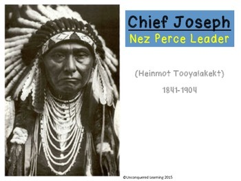 Chief Joseph Nez Perce Leader