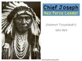 Chief Joseph Nez Perce Leader
