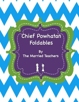 Chief Powhatan Interactive Historical Figure Foldables