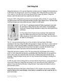 Chief Sitting Bull Article and Timeline