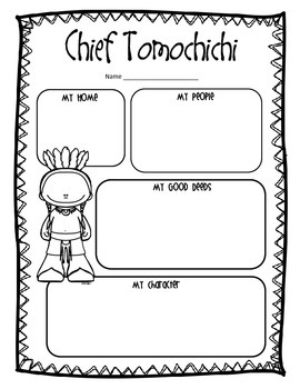 Chief Tomochichi: An ELA Biography Study