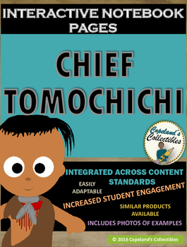 Chief Tomochichi's Interactive Notebook Pages