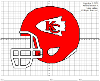 Chiefs' Helmet (4-Quad) Mystery Picture