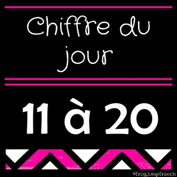 Chiffre du jour // French Number of the Day 11-20