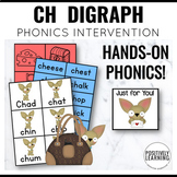 Phonics Intervention Games CH Digraph Chihuahuas