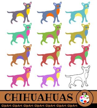 Chihuahua Dog Clip Art - Pet Animals