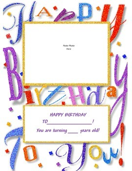 Child Birthday Card