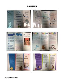Child Care Babysitting Brochure