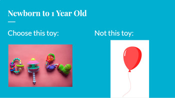 Child Care, Babysitting, Development - Age Appropriate Toys Lesson & Activity