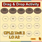 Child Care Interactive Drag & Drop Activity for Level 2 CP