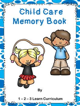 Child Care Memory Book