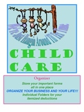 Child Care Organizing your files for tax preparation and b