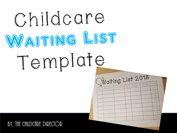 Child Care Waiting List