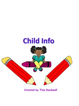 Child Contact Info for School