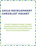 Child Development Checklists