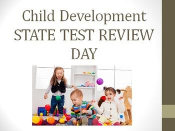 Child Development Course Final Review, Final Test prep, and Final project bundle