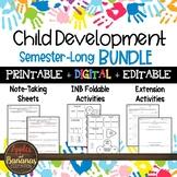 Child Development Bundle - Interactive Note-Taking Activities
