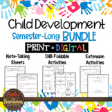 Child Development Bundle - Interactive Note-Taking Activities