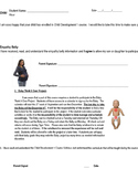 Child Development Permission Slip- Empathy Belly & Baby Th