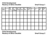 Child Development Skills Checklist